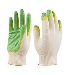Перчатки латекс, двойной облив